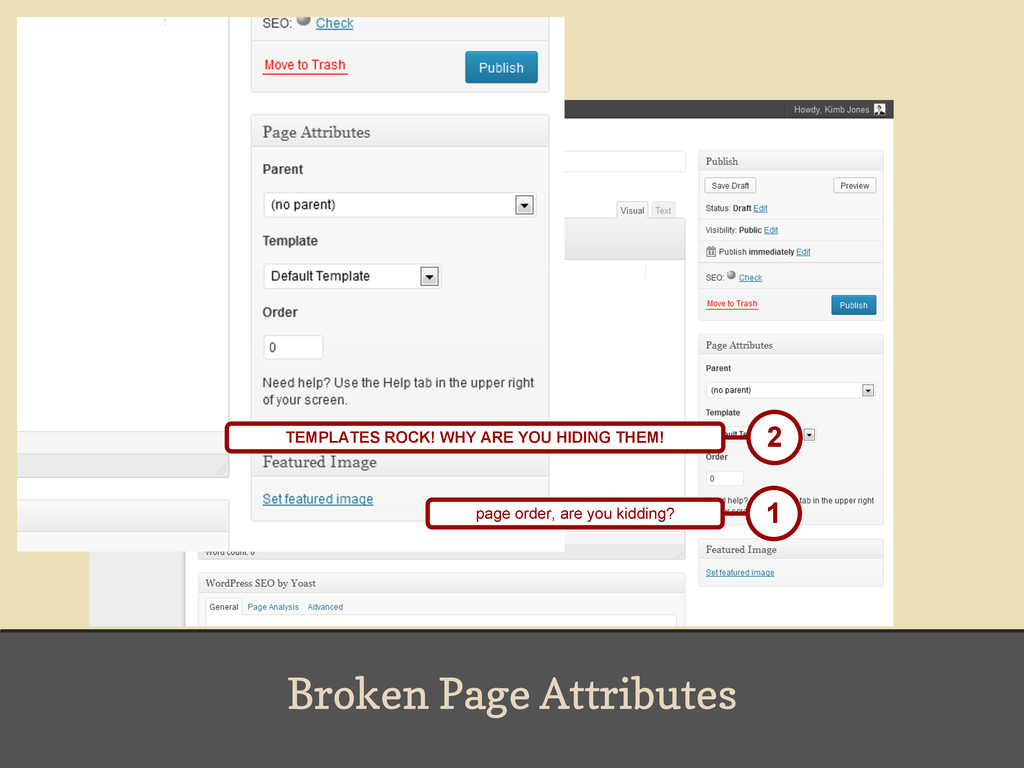 Broken Page Attributes 1 page order, are you ki...