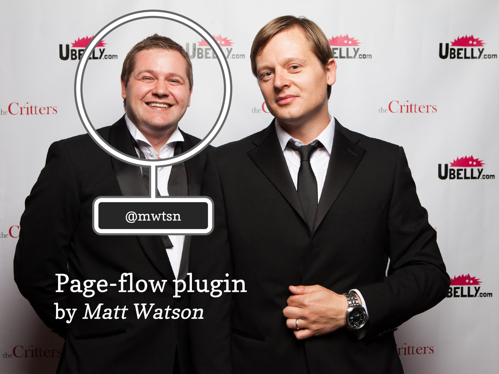 Page-flow plugin by Matt Watson @mwtsn @mwtsn