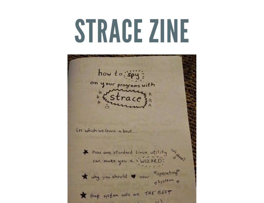 STRACE ZINE