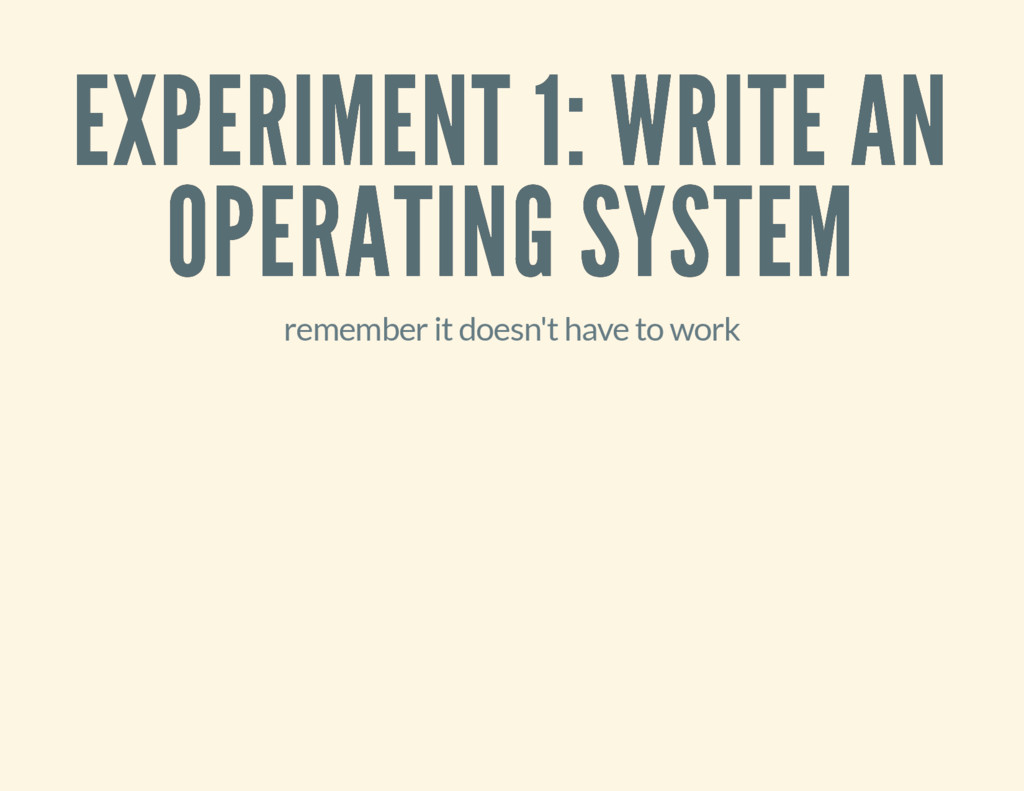 EXPERIMENT 1: WRITE AN EXPERIMENT 1: WRITE AN O...
