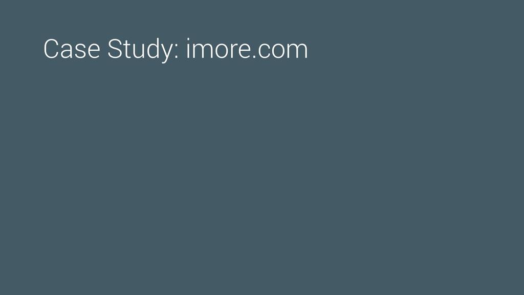 Case Study: imore.com