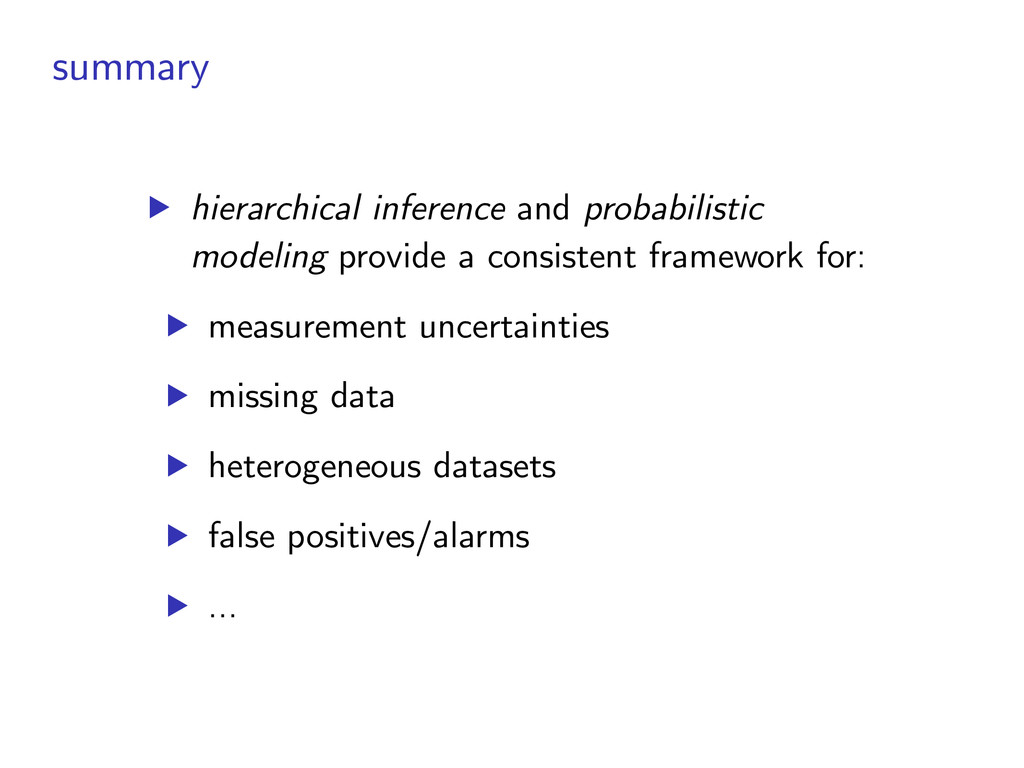 summary ▶︎ hierarchical inference and probabili...