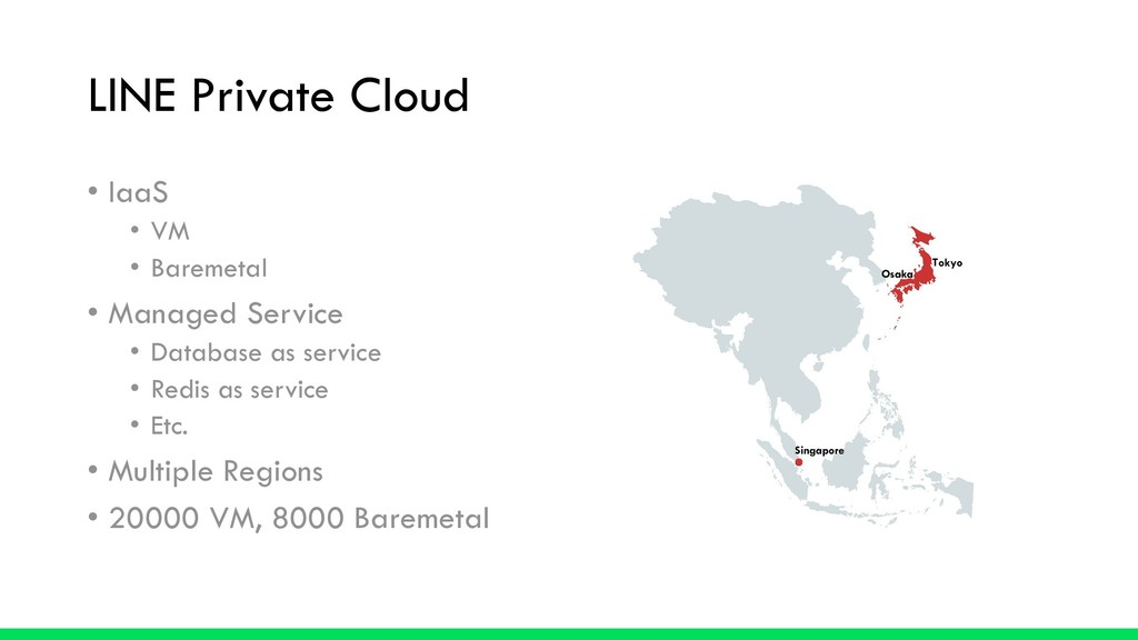 LINE Private Cloud • IaaS • VM • Baremetal • Ma...