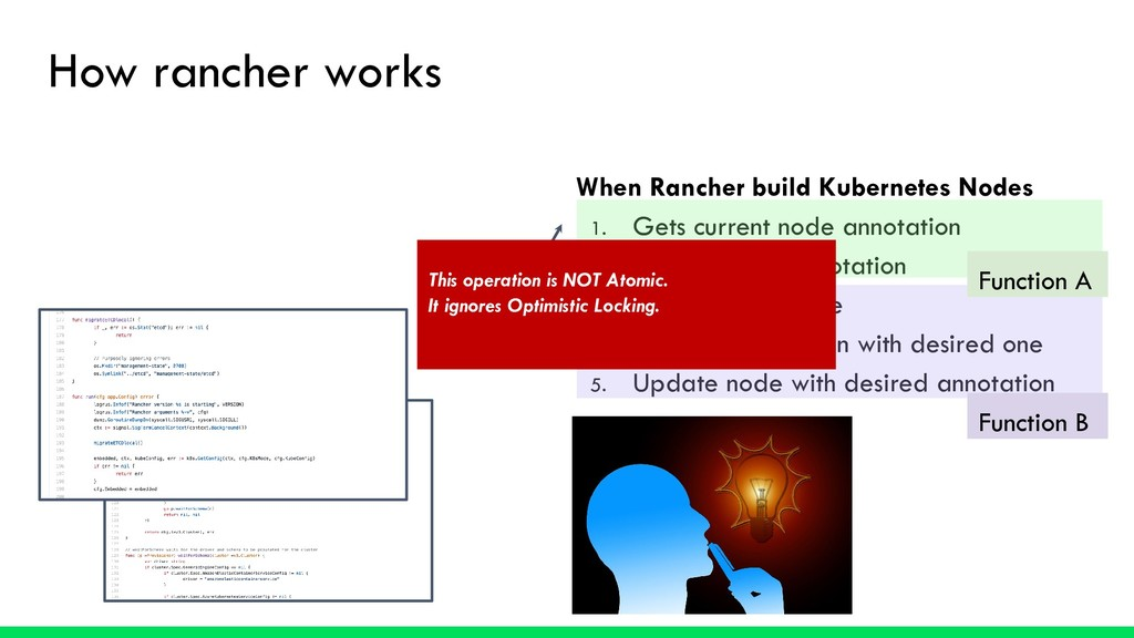 How rancher works When Rancher build Kubernetes...