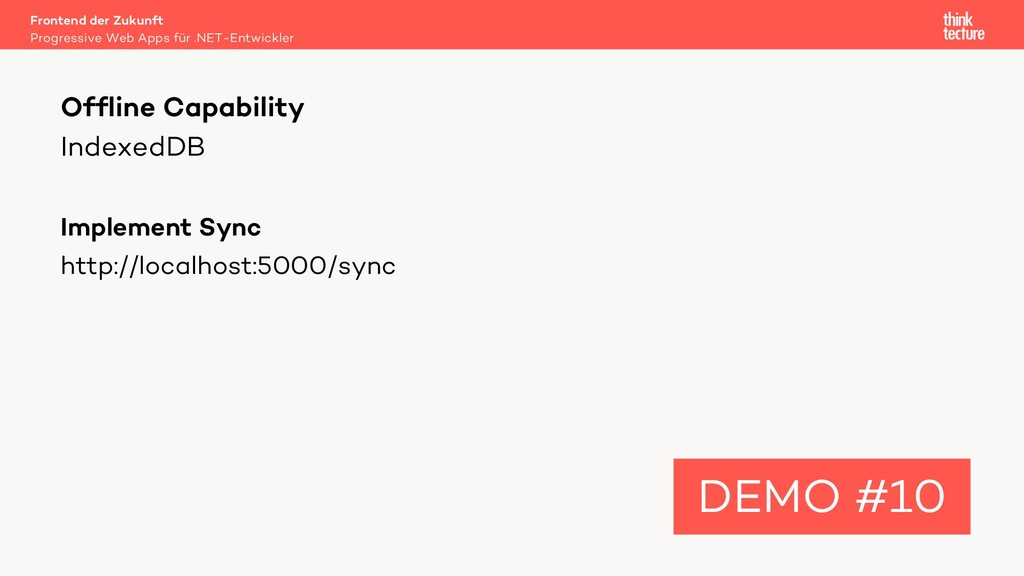 IndexedDB Implement Sync http://localhost:5000/...