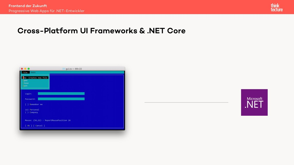 Cross-Platform UI Frameworks & .NET Core Progre...