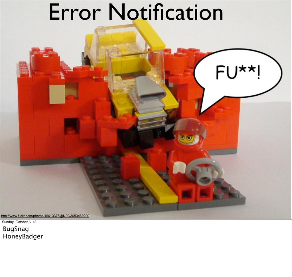 Error Notification http://www.flickr.com/photos/...