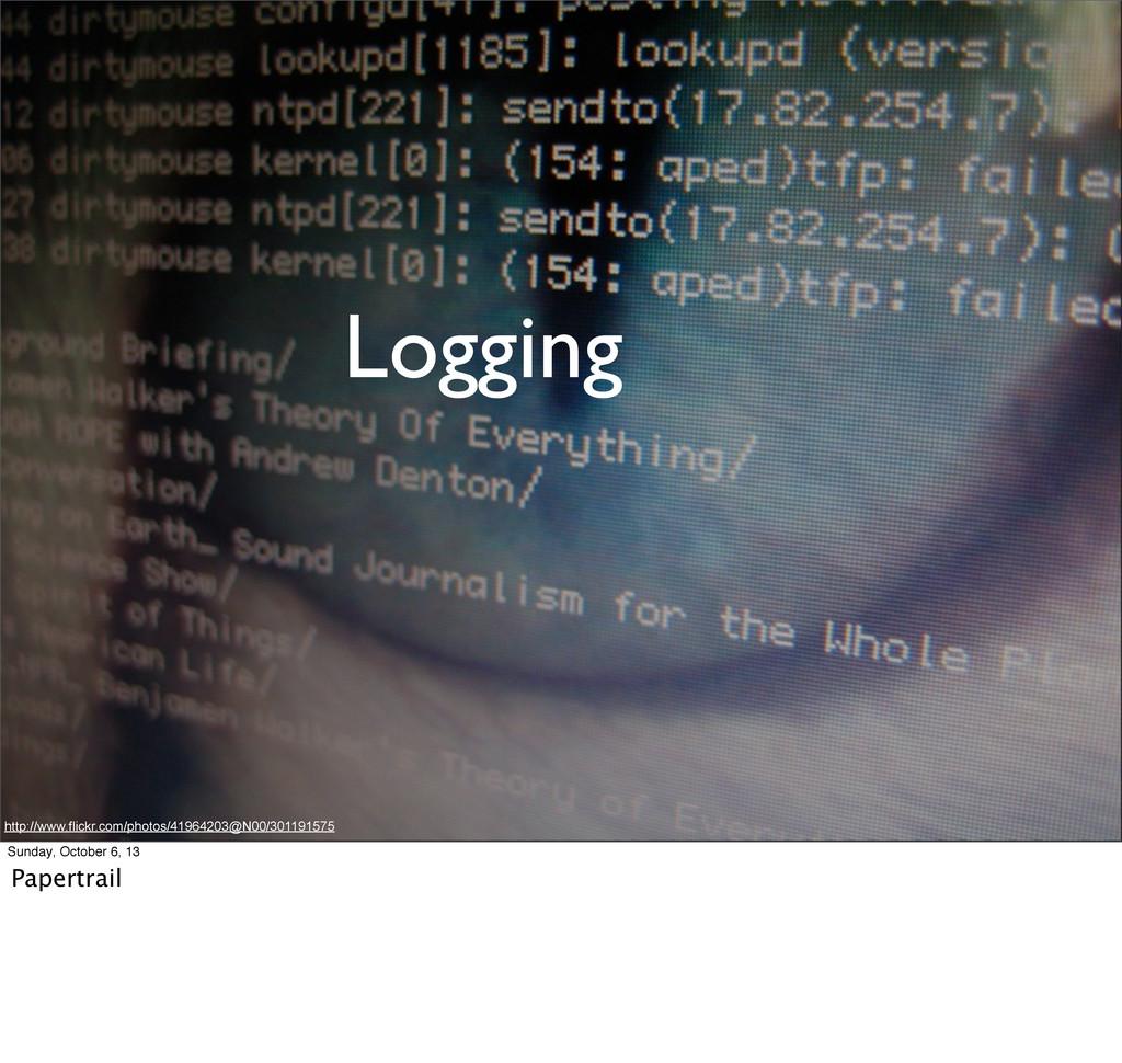 Logging http://www.flickr.com/photos/41964203@N...