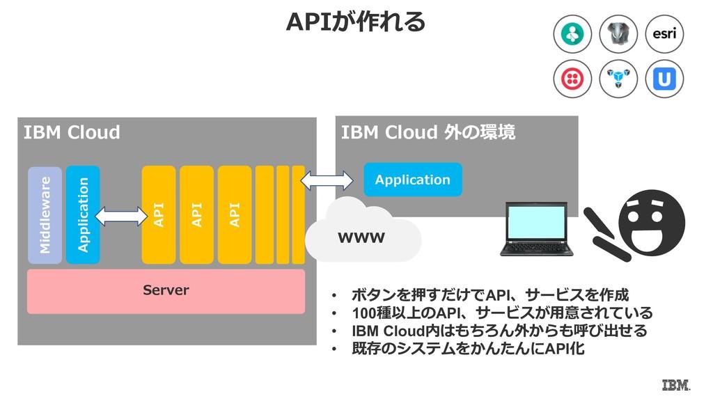 • d API • 100a BAPI • IBM Cloud C I c • e BM PS...