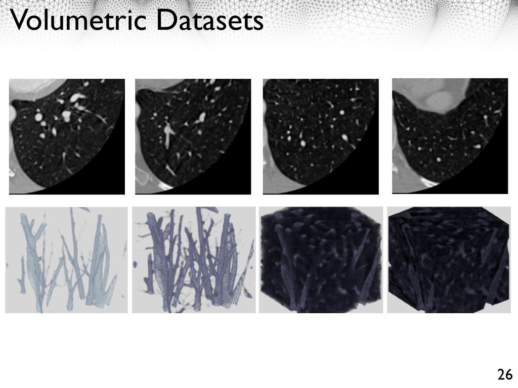 Volumetric Datasets 26
