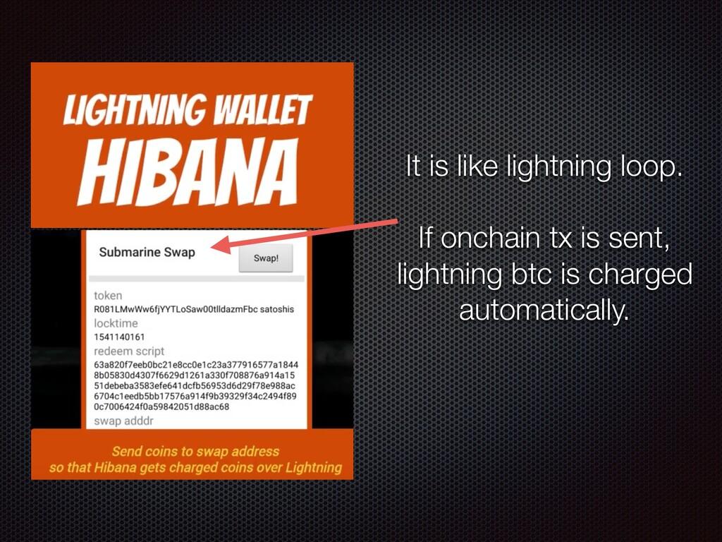 It is like lightning loop. If onchain tx is sen...
