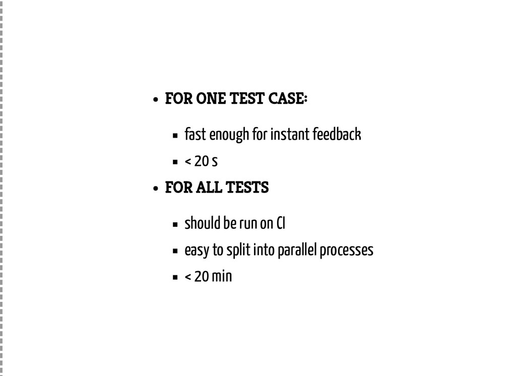 FOR ONE TEST CASE: fast enough for instant feed...