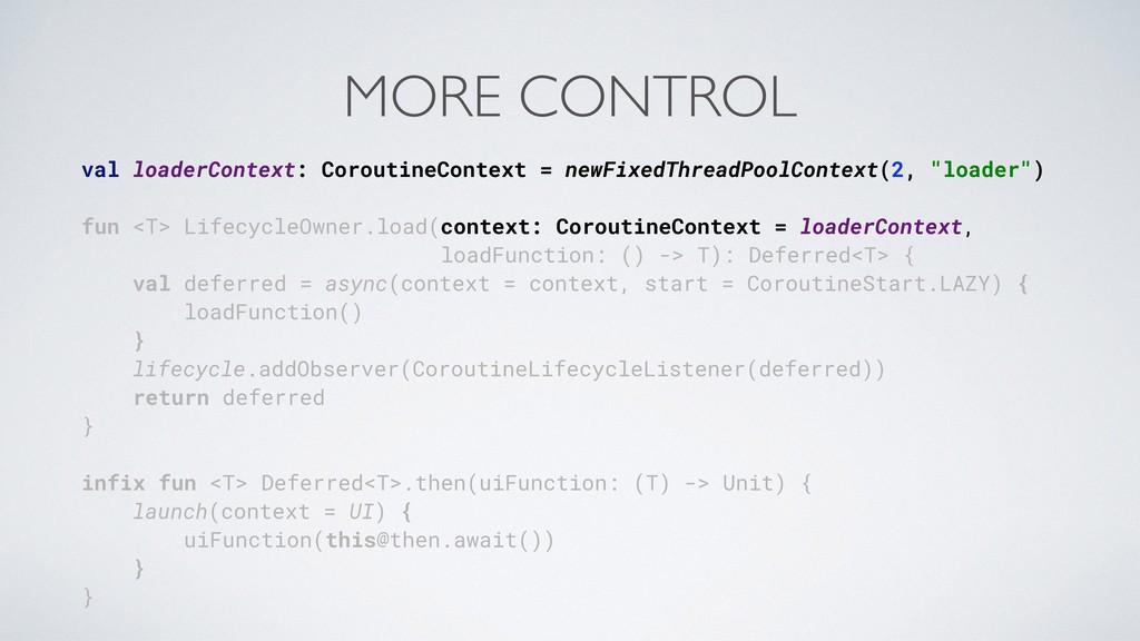 val loaderContext: CoroutineContext = newFixedT...