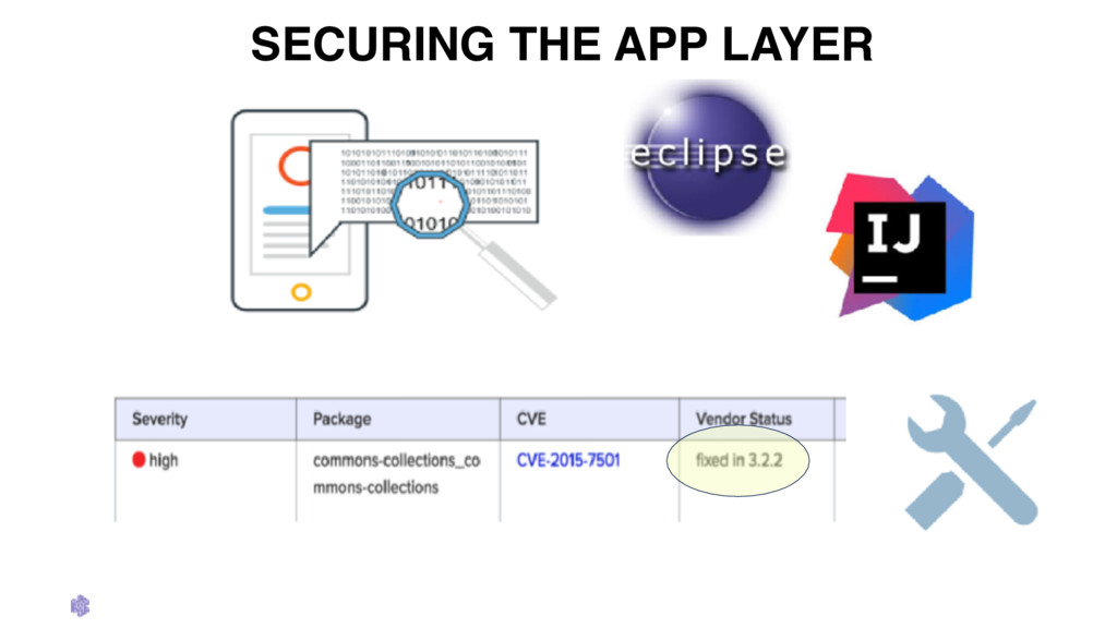 SECURING THE APP LAYER