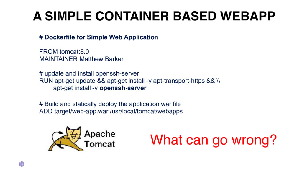 A SIMPLE CONTAINER BASED WEBAPP # Dockerfile fo...