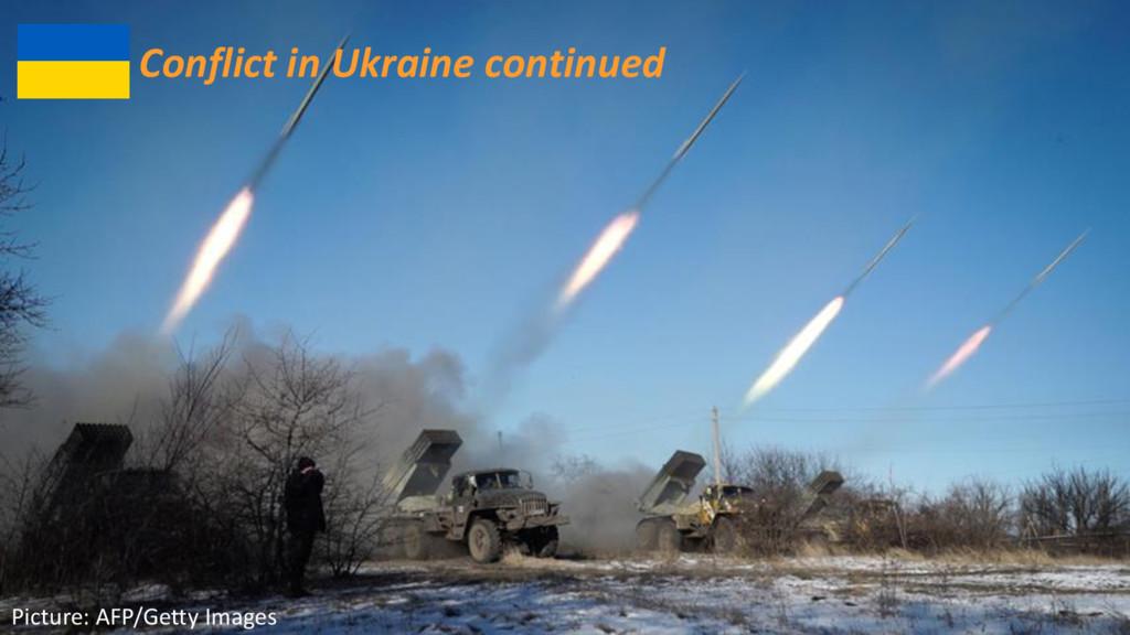 ©2016 AKAMAI | FASTER FORWARDTM Conflict in Ukr...