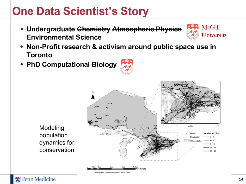 14 One Data Scientist's Story w Undergraduate C...