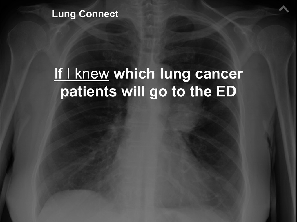 38 If I knew which lung cancer patients will go...