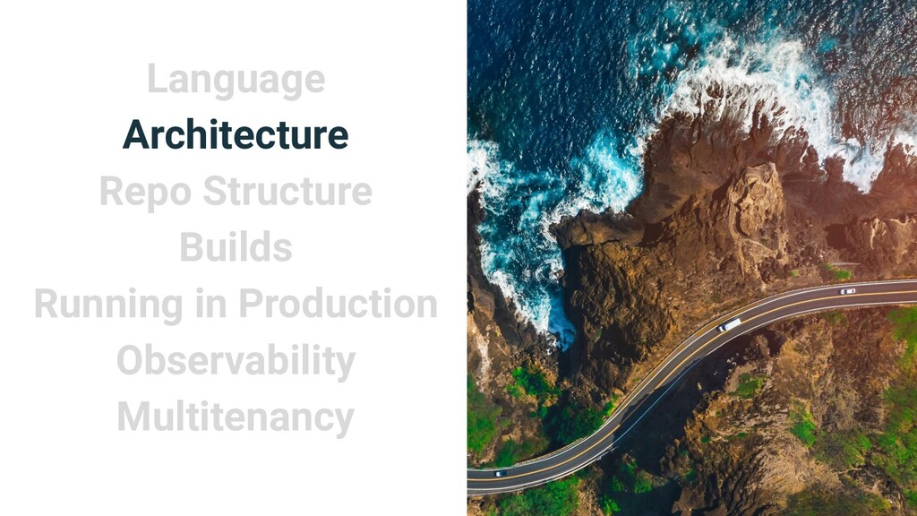 Language Architecture Repo Structure Builds Run...