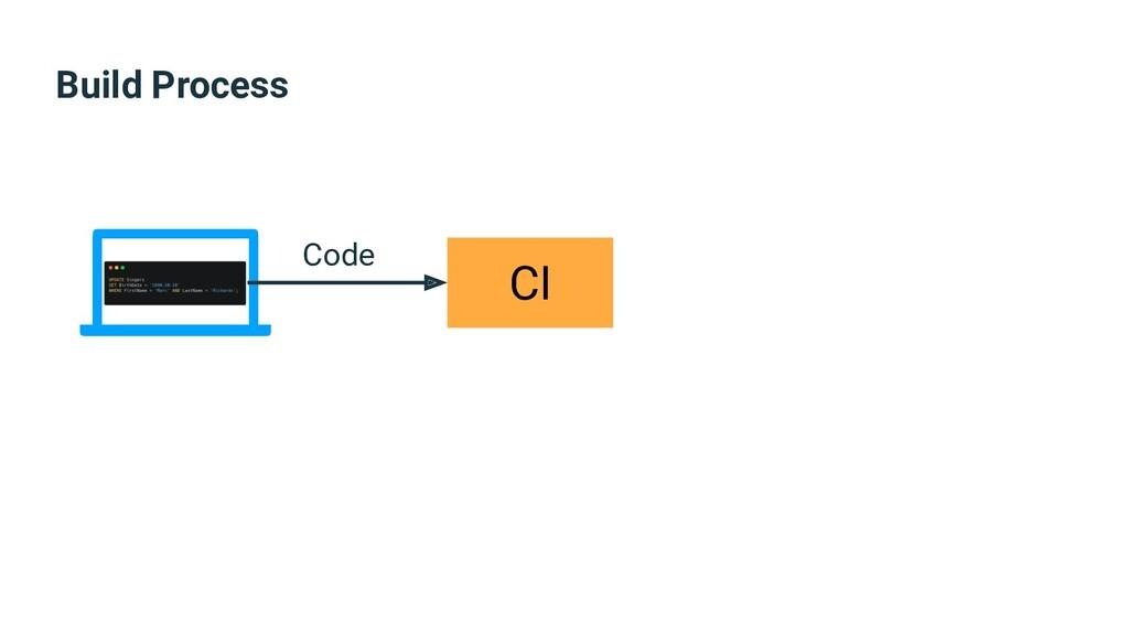 Build Process CI Code