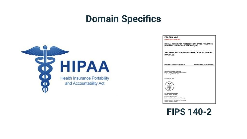 Domain Specifics FIPS 140-2