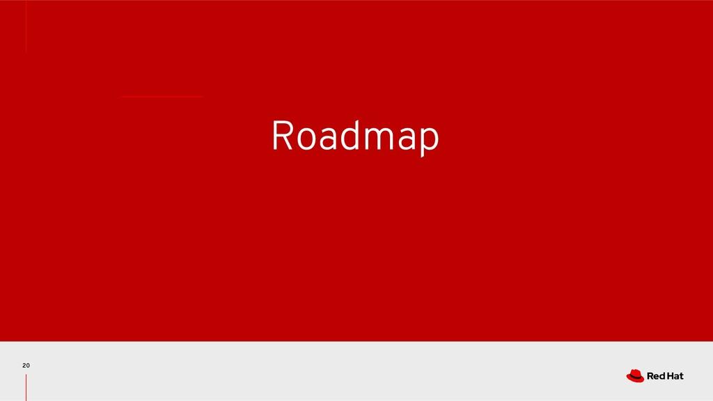 Roadmap 20