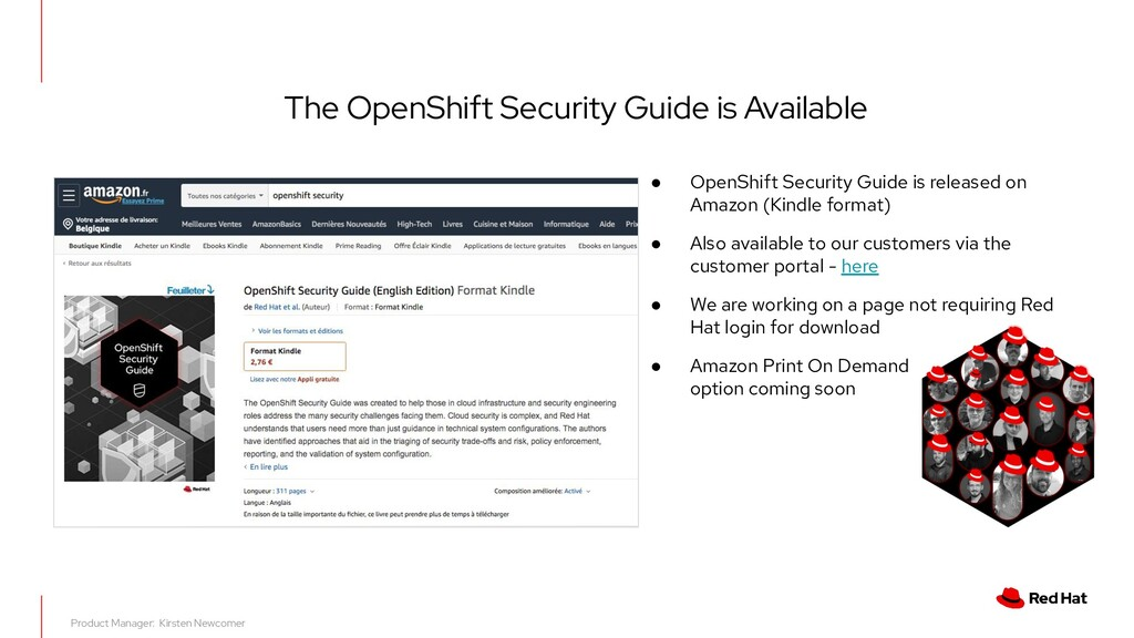 The OpenShift Security Guide is Available ● Ope...