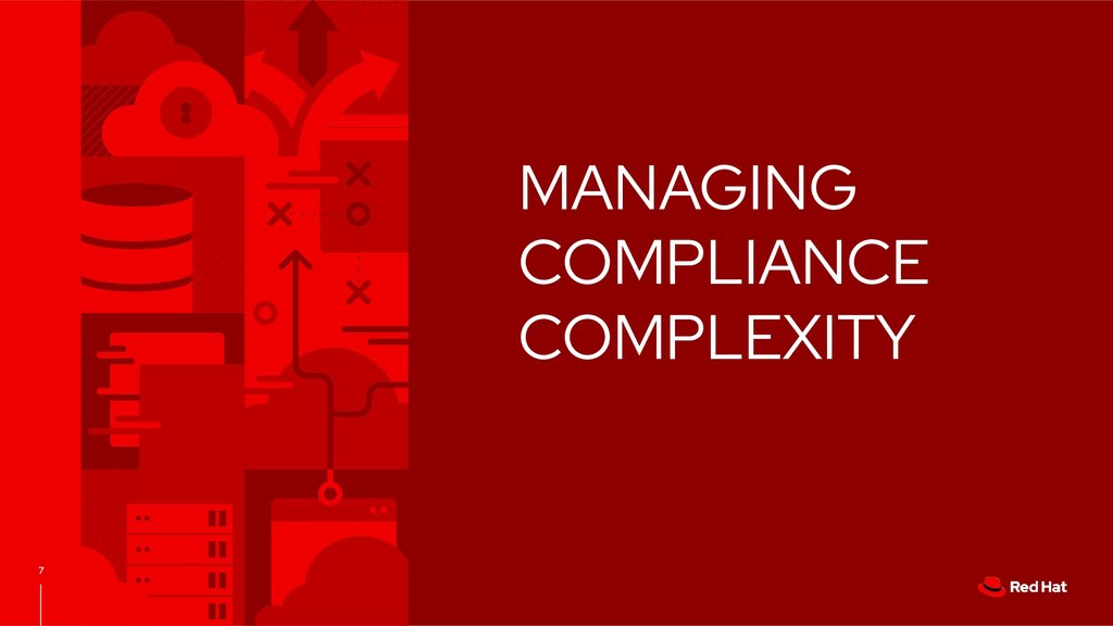 7 MANAGING COMPLIANCE COMPLEXITY