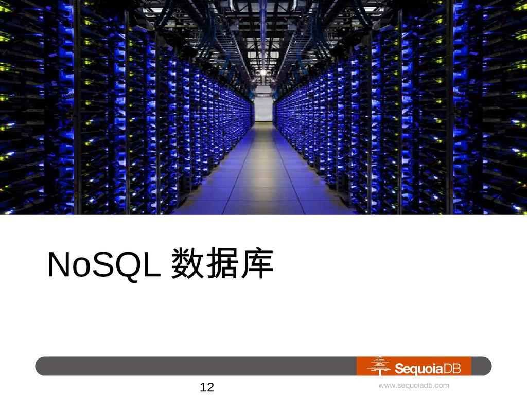 NoSQL 数据库 • 实时大数据计算引擎 12