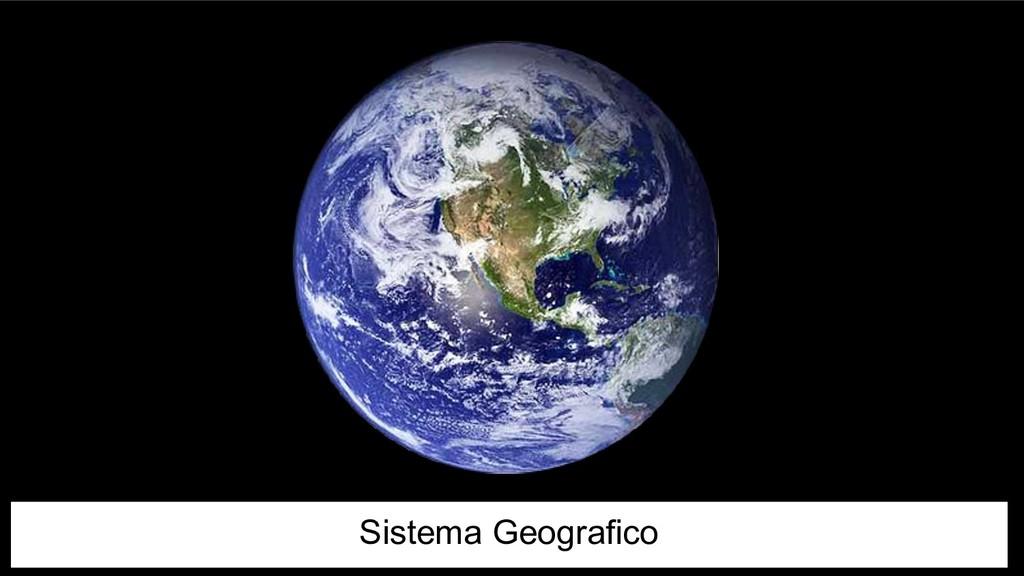 Sistema Geografico