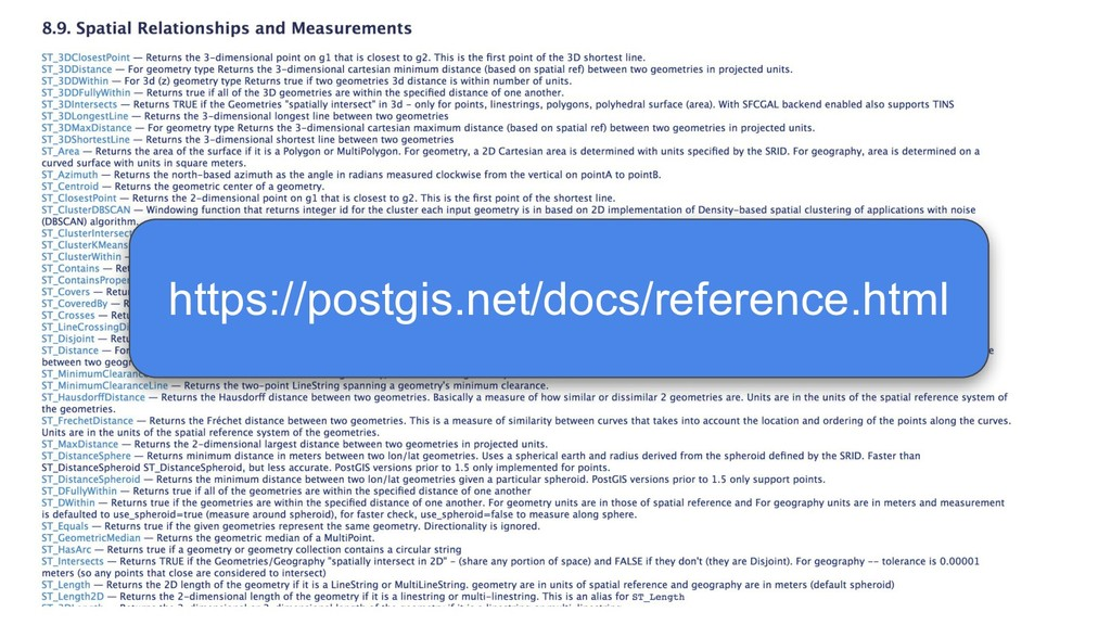 https://postgis.net/docs/reference.html