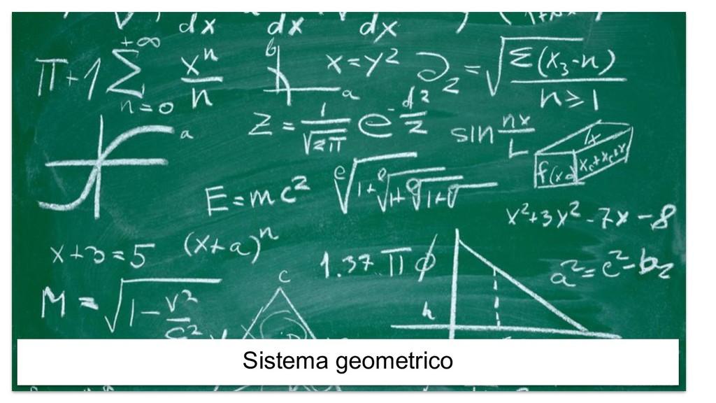 Sistema geometrico