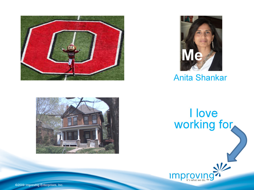 ©2009 Improving Enterprises, Inc. Anita Shankar...