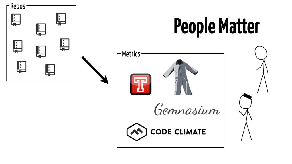 Metrics People Matter Repos