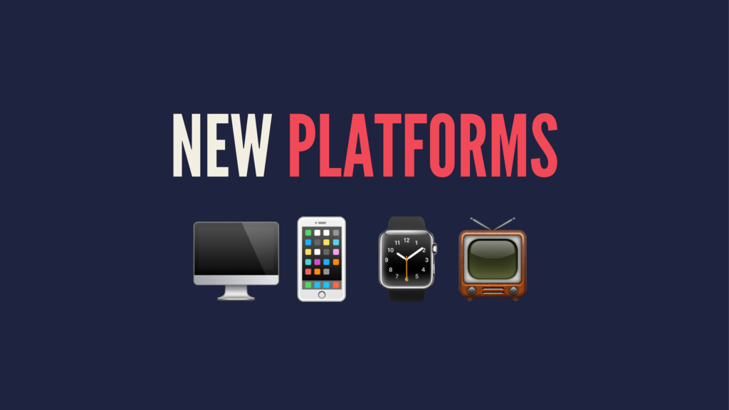 "NEW PLATFORMS !""⌚$"