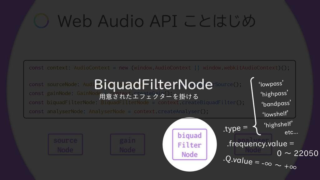 """8FC""""VEJP""""1*͜ͱ͡Ί const context: AudioContext..."""