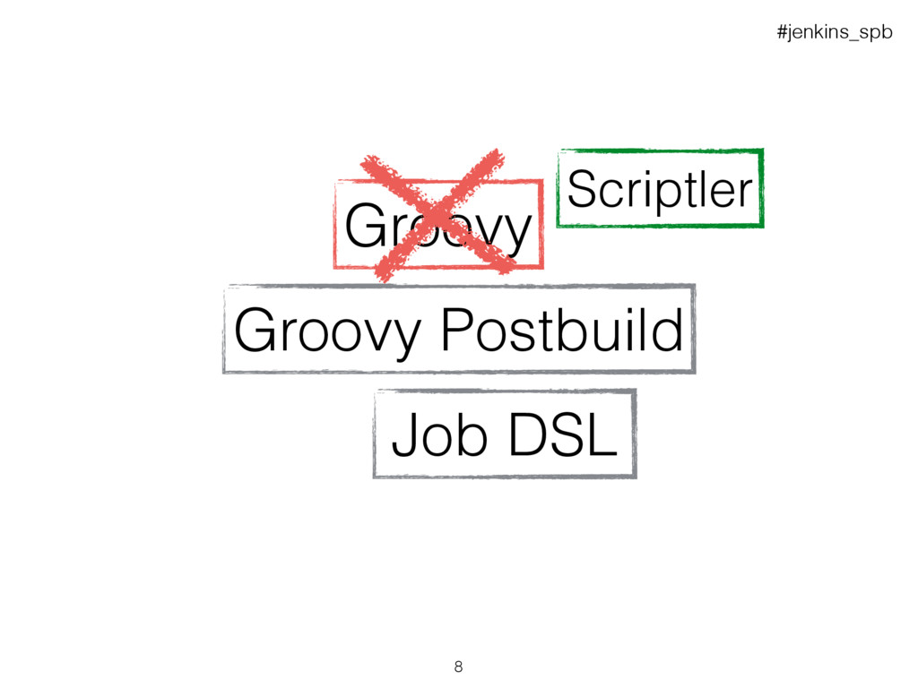 Job DSL Groovy Groovy Postbuild Scriptler #jenk...