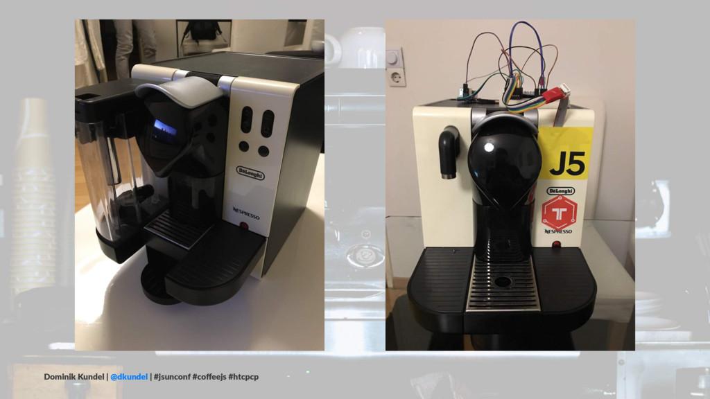 Dominik Kundel | @dkundel | #jsunconf #coffeejs ...