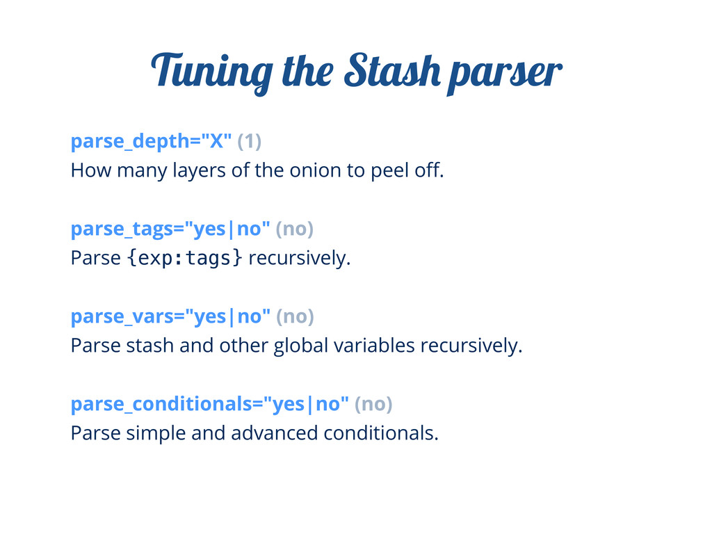 "parse_depth=""X"" (1) How many layers of the onio..."