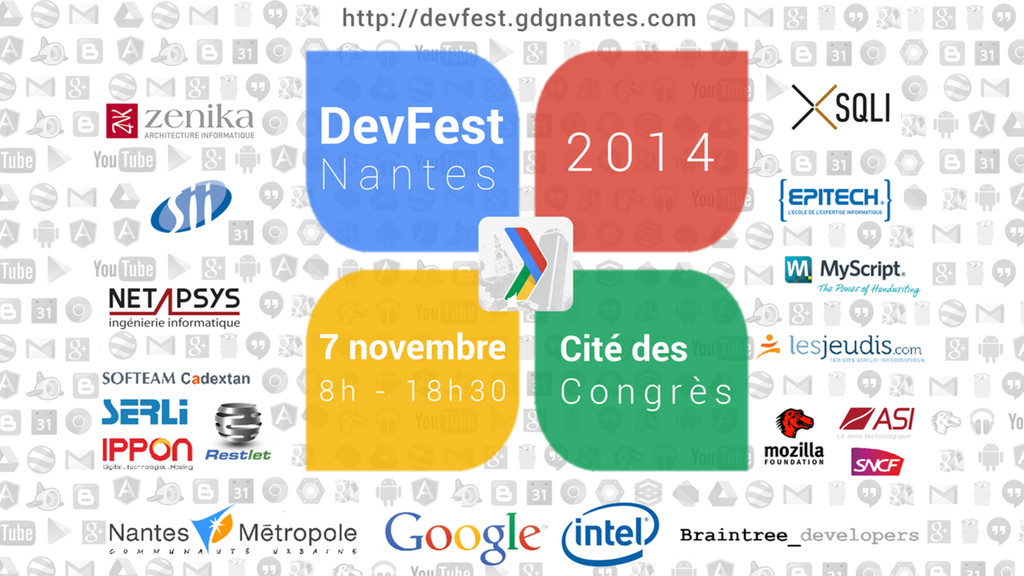 #devfest #nantes #itshackademic #polymer @LostI...