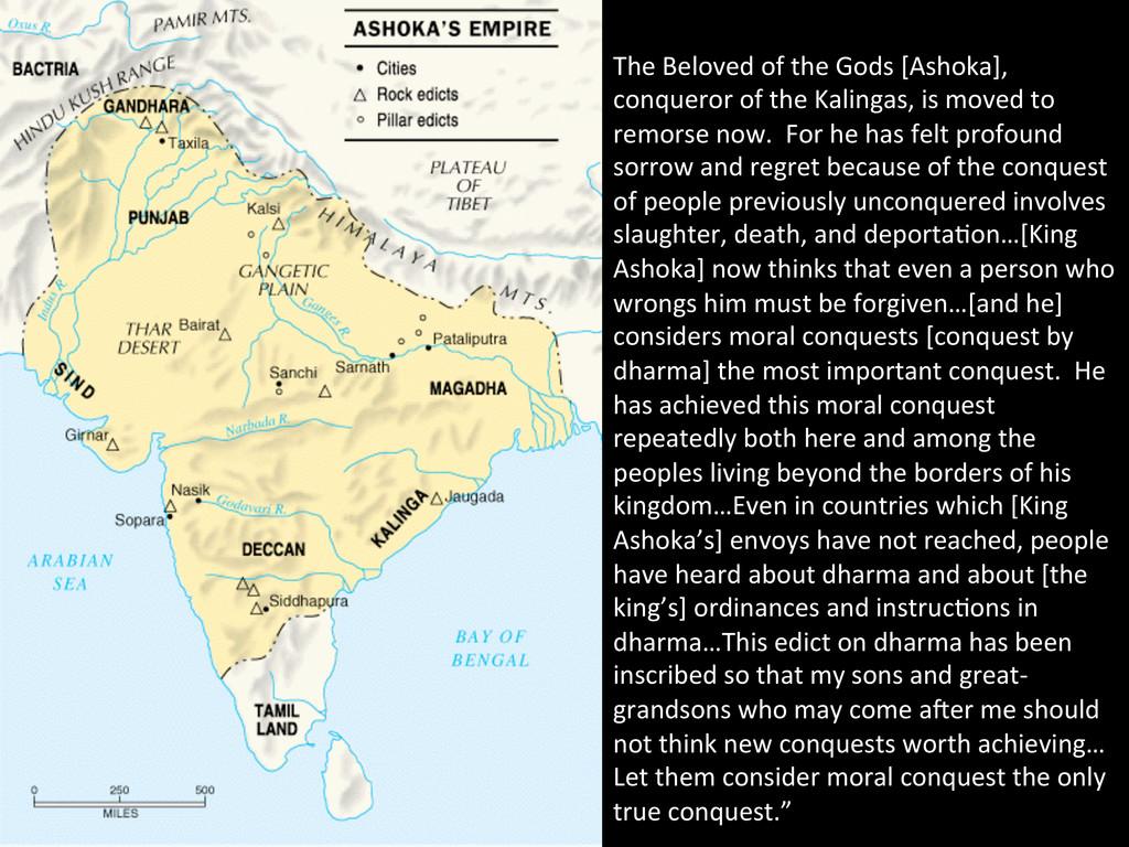 The Beloved of the Gods [Ashoka]...