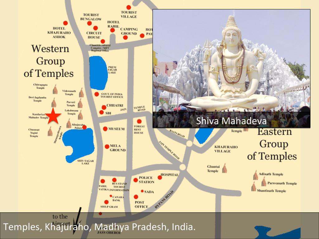 Temples, Khajuraho, Madhya Pradesh, ...
