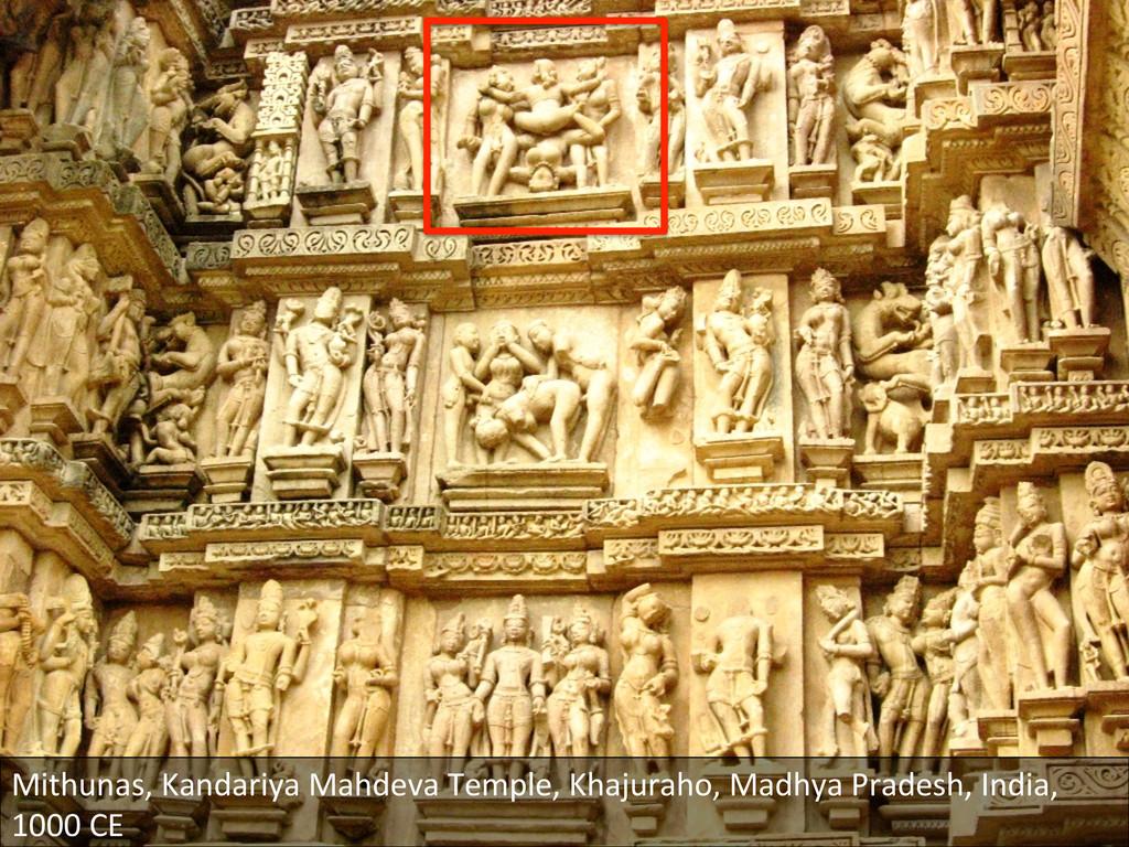 Mithunas, Kandariya Mahdeva Temple, ...