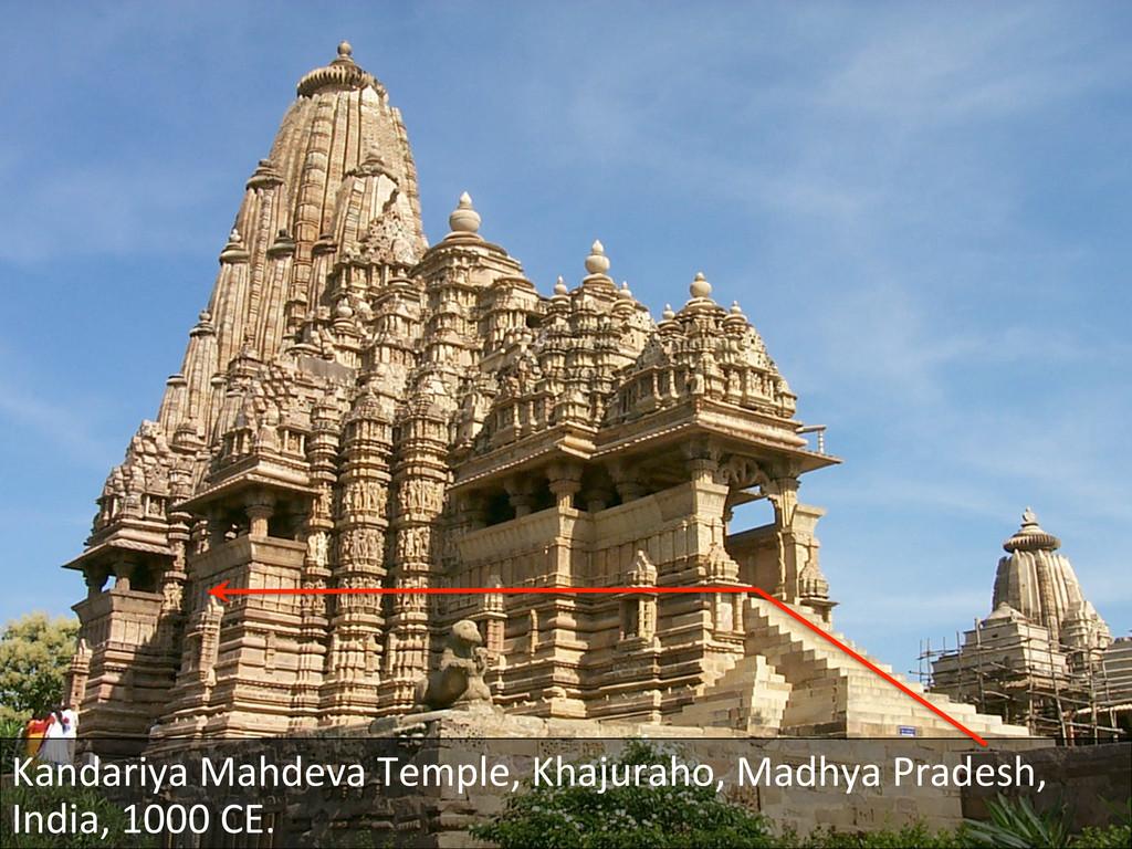 Kandariya Mahdeva Temple, Khajuraho,...