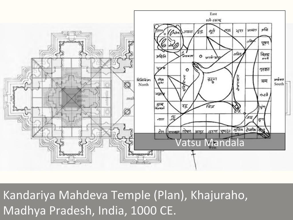 Kandariya Mahdeva Temple (Plan), Kh...