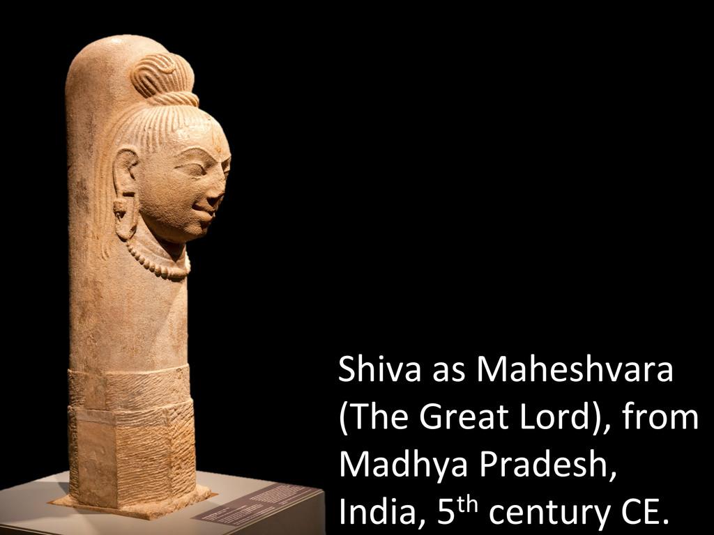 Shiva as Maheshvara  (The Great ...