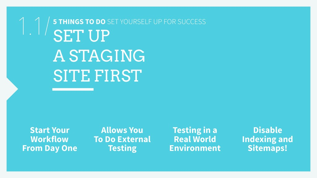 5 THINGS TO DO SET YOURSELF UP FOR SUCCESS SET ...