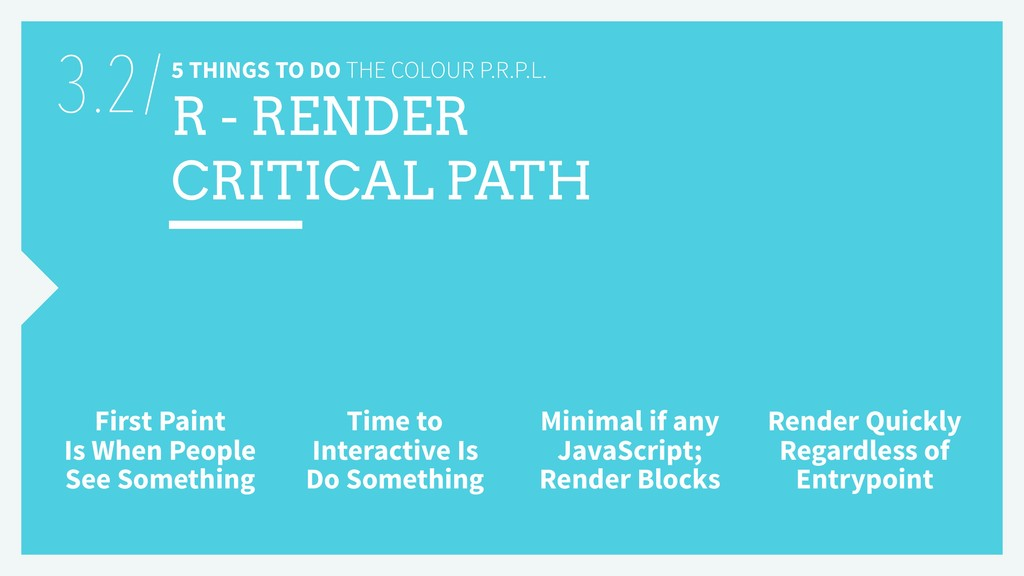5 THINGS TO DO THE COLOUR P.R.P.L. R - RENDER C...