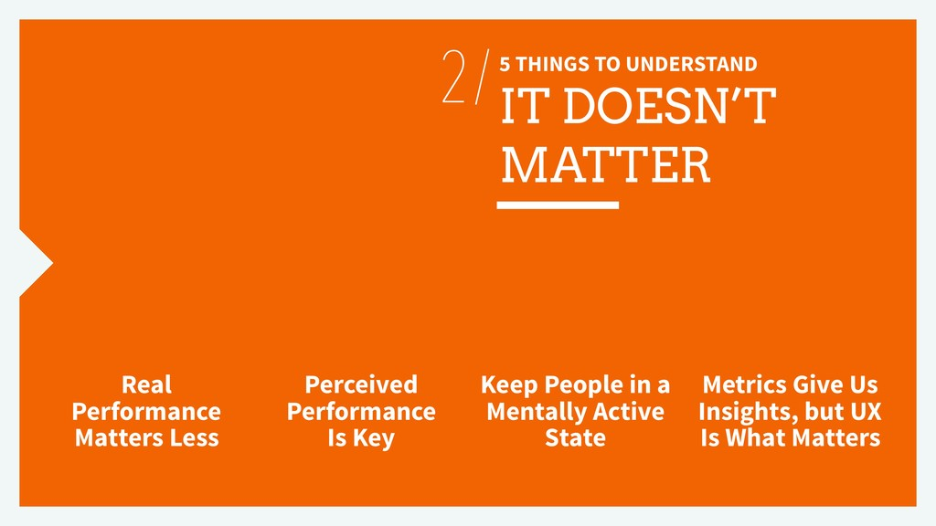 5 THINGS TO UNDERSTAND IT DOESN'T MATTER Real P...