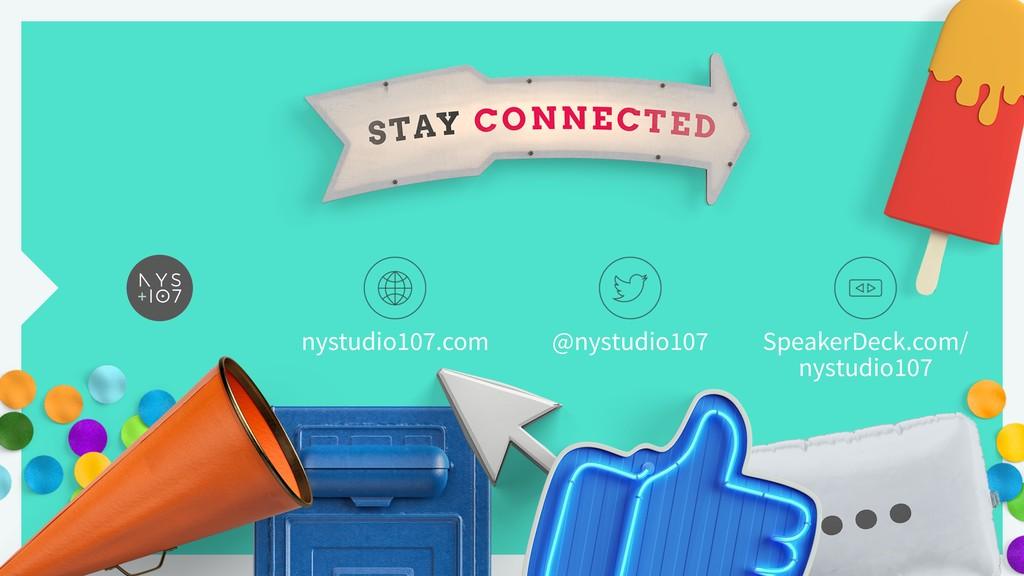 nystudio107.com @nystudio107 SpeakerDeck.com/ ...
